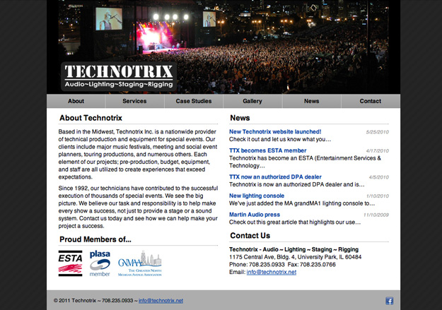 Technotrix website